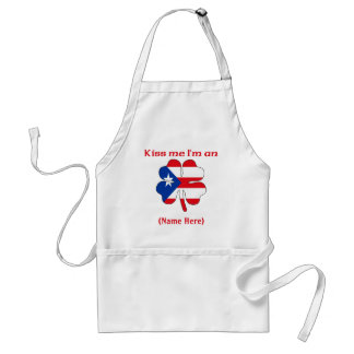 Personalized Kiss Me I'm Puerto Rican Apron