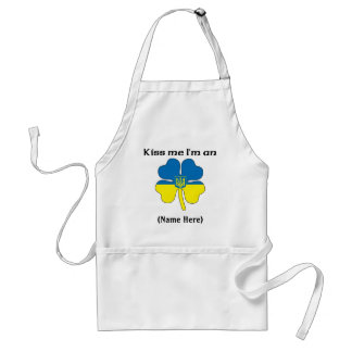 Personalized Kiss Me I'm Ukrainian Apron