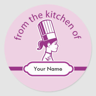 Personalized Kitchen Label Stickers