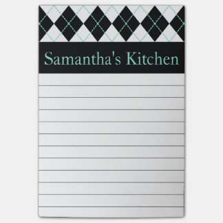 Personalized Kitchen Post It Notes Post-it® Notes