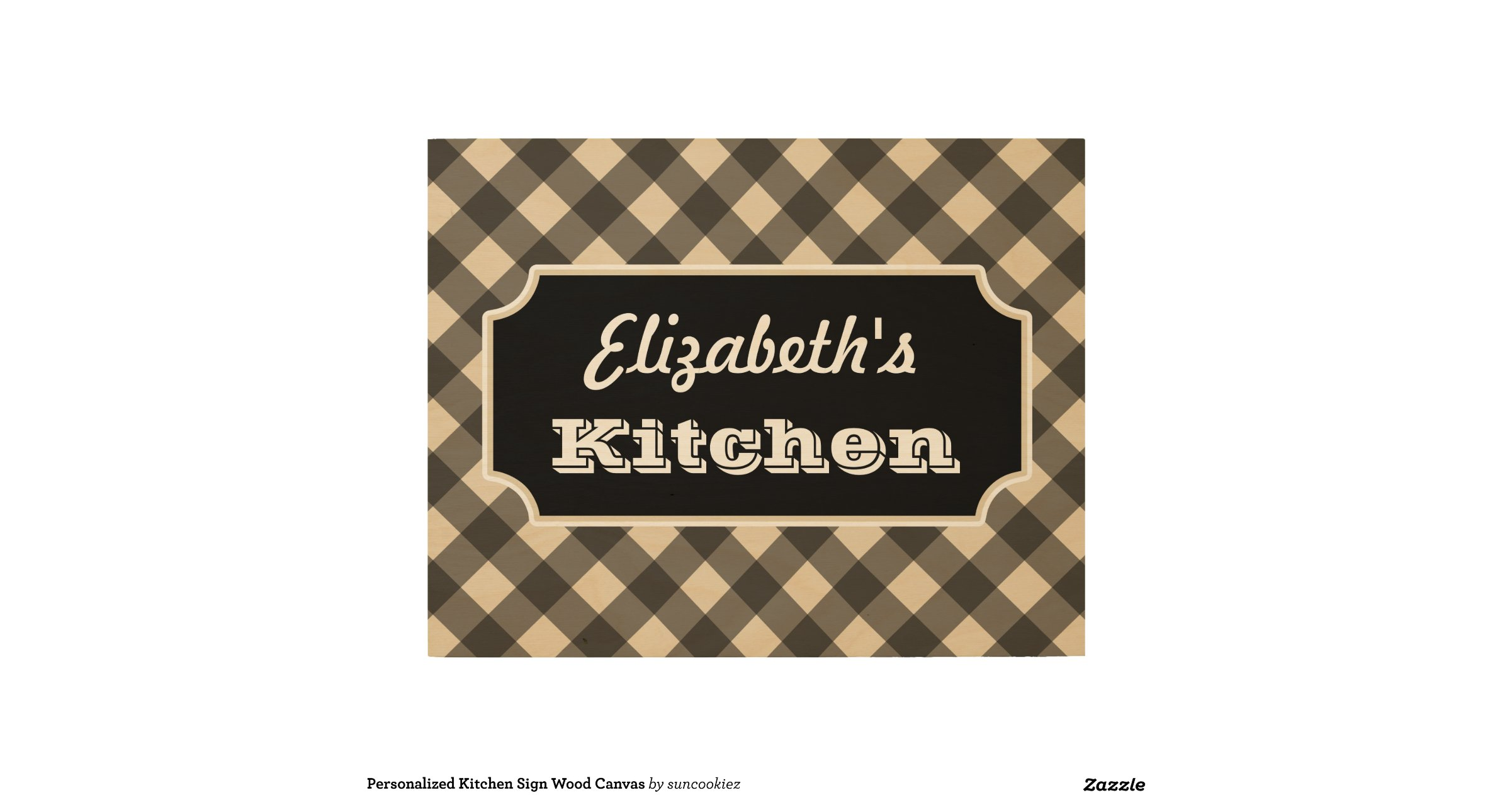 Personalized Kitchen Sign Wood Canvas Wood Wall Art R66627183e9f141f495396418cb53635d Zfolg 1200