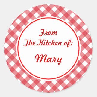 Personalized Kitchen Stickers