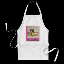 Personalized Kitchen Still Life Design aprons