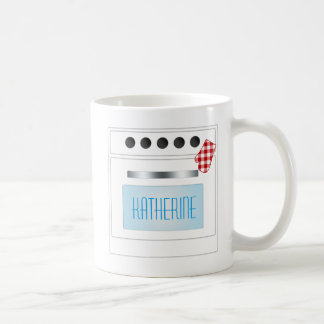 Personalized Kitchen Stove with Oven Door Coffee Mug