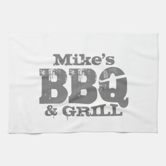 Personalized kitchen towel for BBQ party