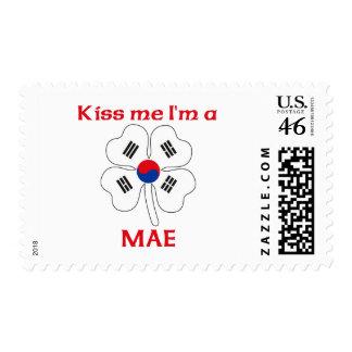 Personalized Korean Kiss Me I m Mae Postage