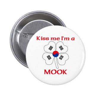Personalized Korean Kiss Me I'm Mook Pin