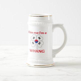 Personalized Korean Kiss Me I'm Whang Coffee Mug