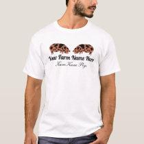 Personalized KuneKune Pig T-Shirt