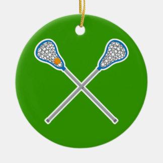 Personalized La Crosse Team Ornament Gift