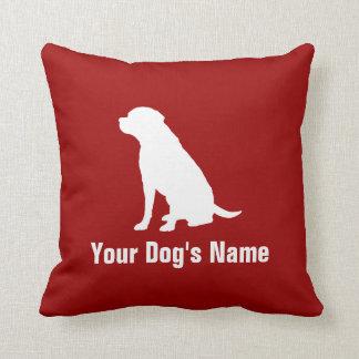 Personalized Labrador Retriever ラブラドール・レトリーバー Throw Pillow