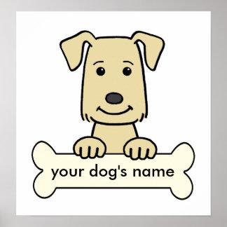 Personalized Labrador Retriever Poster