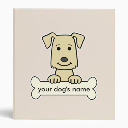 Personalized Labrador Retriever Vinyl Binders