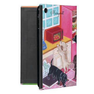 Personalized Labradors Kitchen Party ipad case