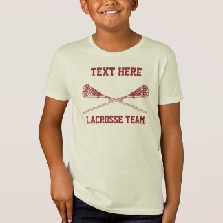Personalized Lacrosse Team Name T-Shirt