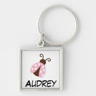 Personalized Ladybug Keychain