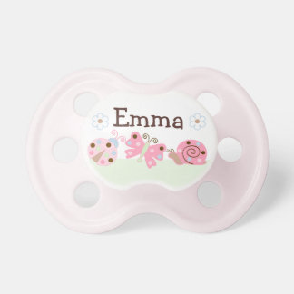 "Personalized ""Ladybug Lullaby"" Pacifier BooginHead Pacifier"