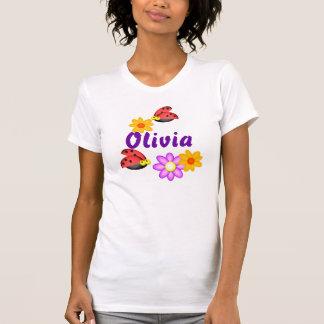 Personalized Ladybugs, Olivia Shirt