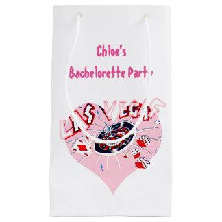 Personalized Las Vegas Bachelorette Small Gift Bag