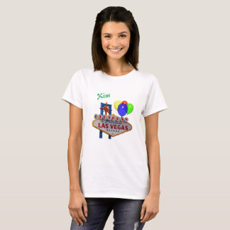 Personalized Las Vegas Birthday Women's T-Shirt