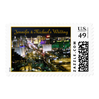 Personalized Las Vegas Bridal Event Postage