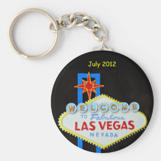 Personalized Las Vegas Keychain