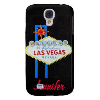 Personalized Las Vegas Sign  Samsung Galaxy S4 Case