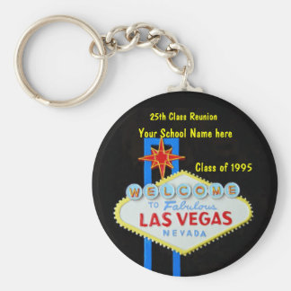 Personalized Las Vegas Sign Party Favor Key Chain