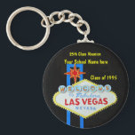 "Personalized Las Vegas Sign Party Favor Keychain<br><div class=""desc"">Your Las Vegas special event party will be a fun memory,  so why not have a party favor to help commemorate the celebration. perfecter for reunions or birthdays,  weddings or promotions. Customizable for any theme!</div>"
