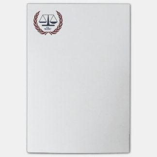 Personalized Lawyer Gifts Post-it® Notes