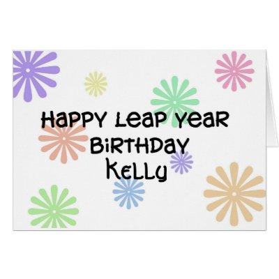 Leap Year Birthday card Lobster Zazzlecom