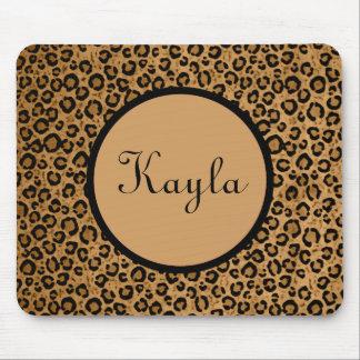 Personalized Leopard Mousepad