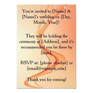 "Personalized Lesbian Wedding Invitation 3.5"" X 5"" Invitation Card"