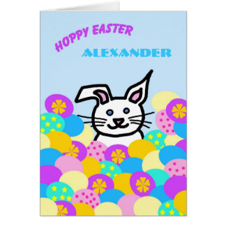 Personalized Letter Card from the Easter Bunny