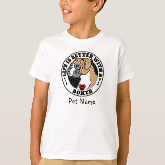 Personalized Life Is Better With A Boxer T-Shirt