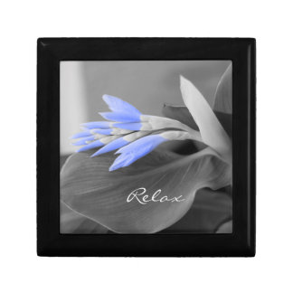 Personalized Light Blue Buds selective color Gift Box