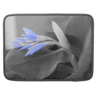 Personalized Light Blue Buds selective color MacBook Pro Sleeve