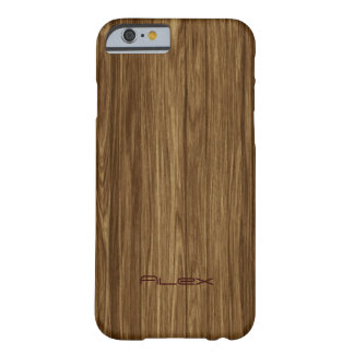 Personalized Light Wood iPhone 6 Case