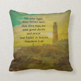 Bible Scripture Verses Pillows - Decorative & Throw Pillows Zazzle