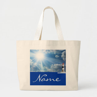 Personalized Lighthouse Tote