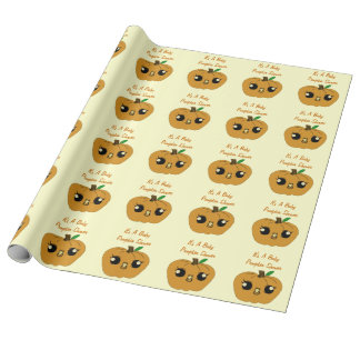 Personalized Lil Pumpkin Wrapping Paper