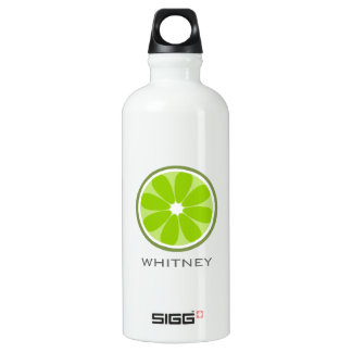 Personalized Lime Slice SIGG Traveler 0.6L Water Bottle