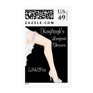 Personalized Lingerie Shower Postage