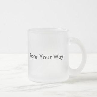 Personalized Lion Art Design Mug Cup