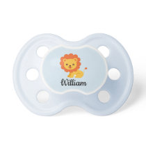 Personalized Lion Baby pacifier