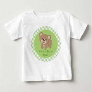 Personalized Little Bear - Nana's Little Bear Baby T-Shirt