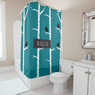 Curtains Ideas birch tree curtains : Birch Tree Shower Curtains | Zazzle