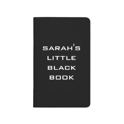Personalized Little Black Book