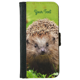 Personalized Little Hedgehog in the Forest iPhone 6/6s Wallet Case