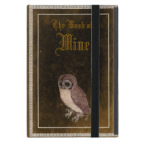 Personalized Little Owl iPad mini in Faux Leather iPad Mini Cover